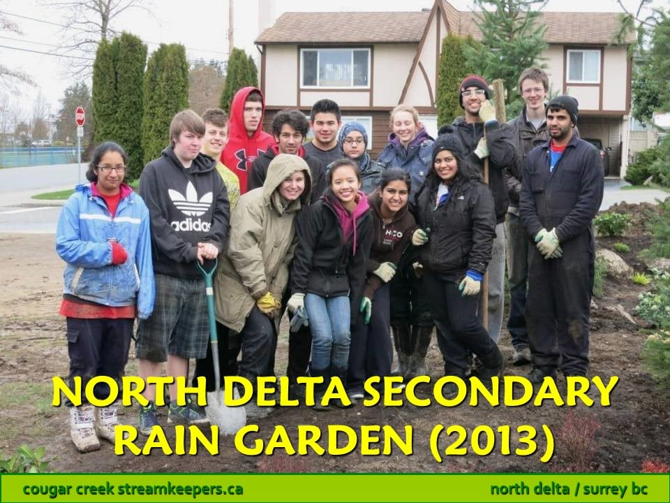North Delta Secondary Rain Garden
