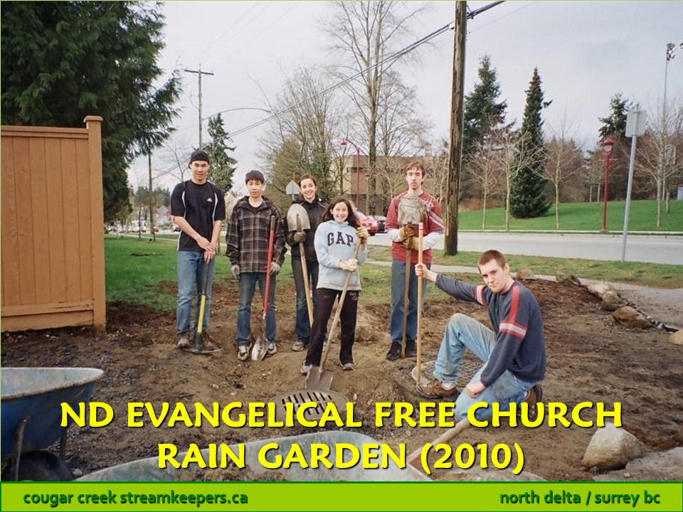 North Delta Evangelical Free Church Rain Garden